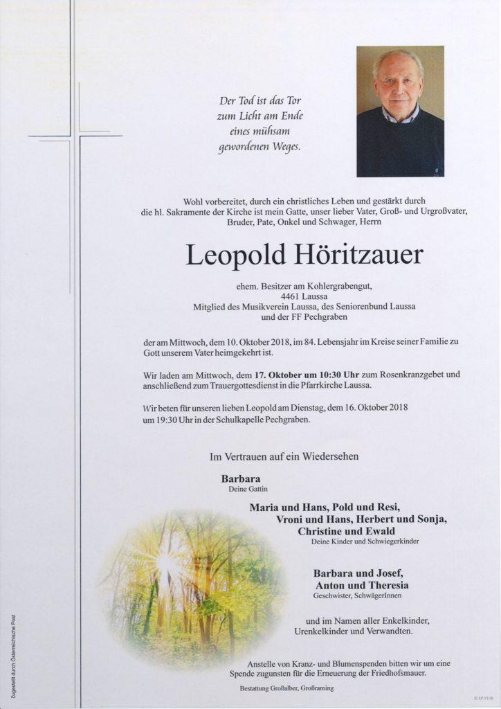 Leopold Höritzauer