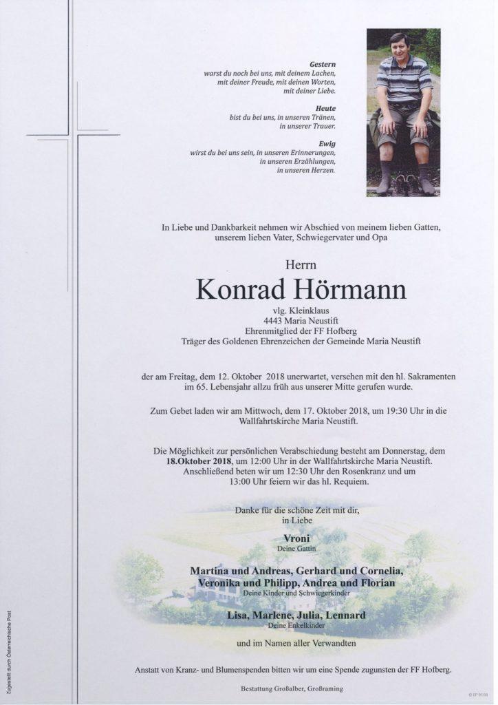 Konrad Hörmann