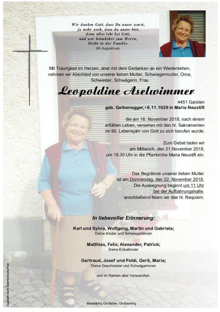 Leopoldine Aselwimmer