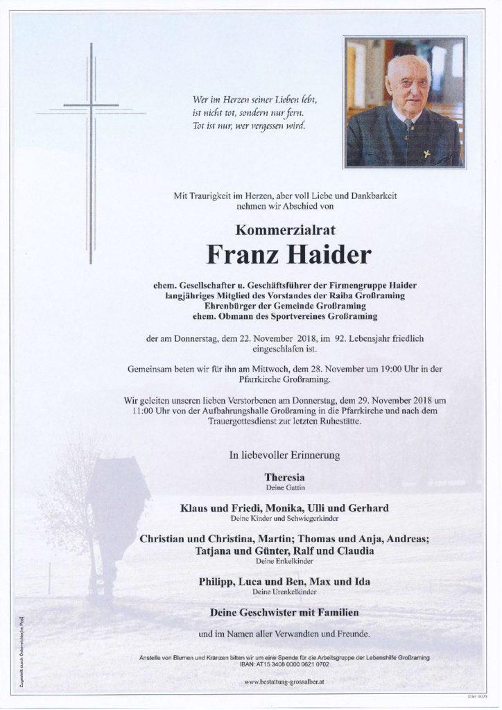 Franz Haider