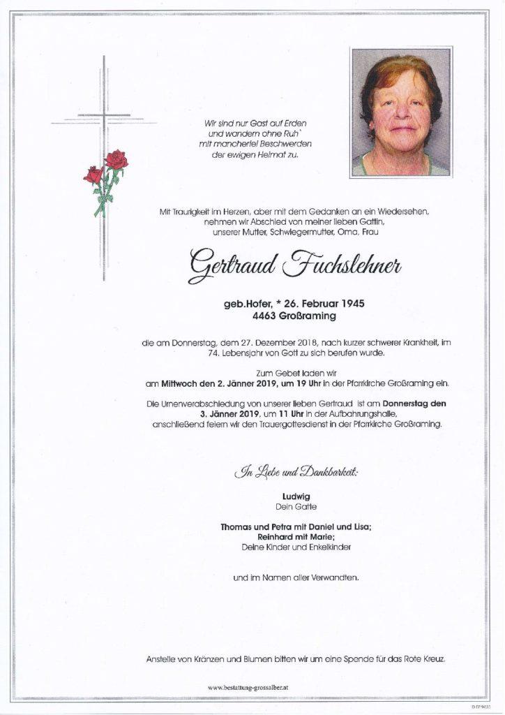 Gertraud Fuchslehner