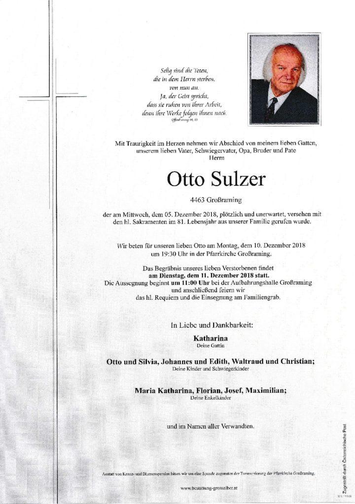 Otto Sulzer