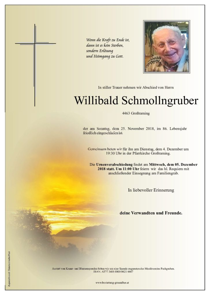 Willibald Schmollngruber