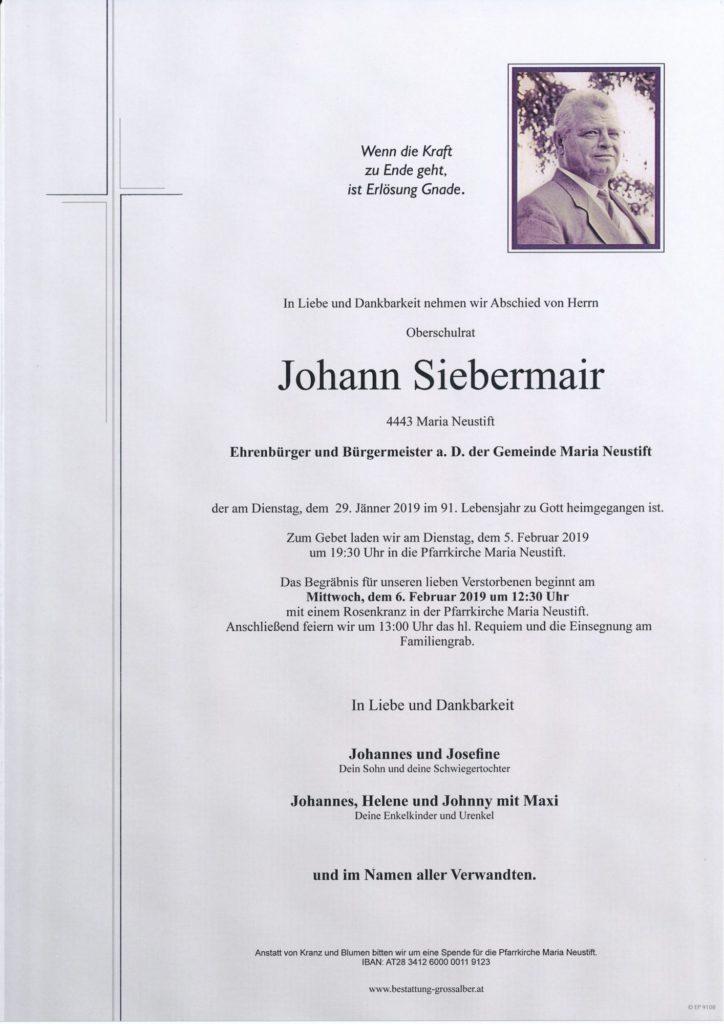 Johann Siebermair