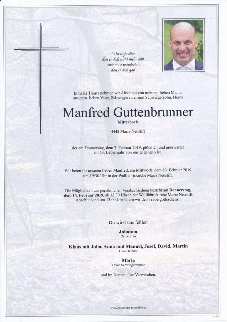 Manfred Guttenbrunner