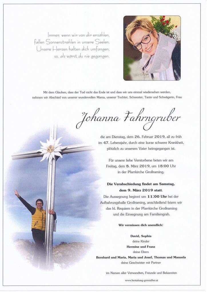 Johanna Fahrngruber