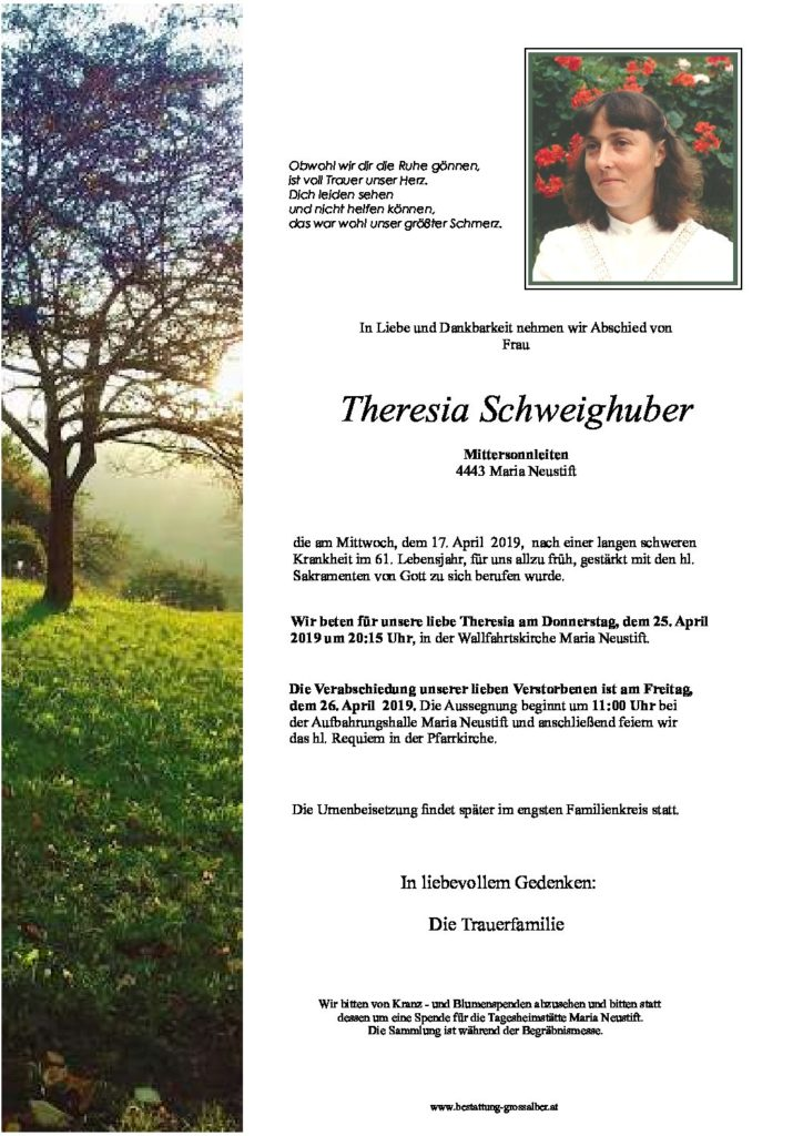 Theresia Schweighuber