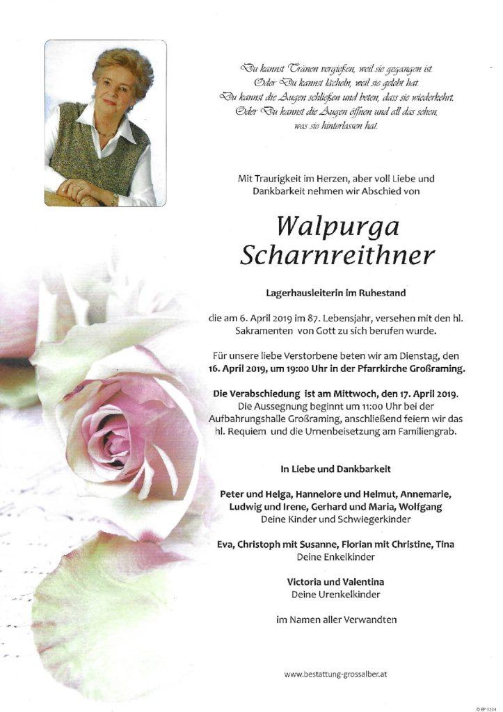 Walpurga Scharnreithner