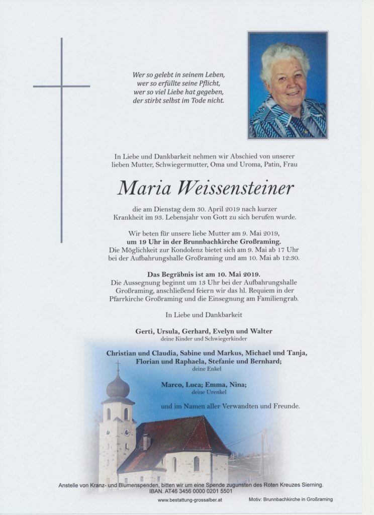 Maria Weissensteiner