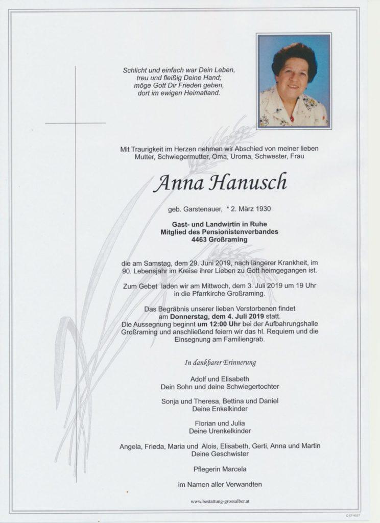 Anna  Hanusch