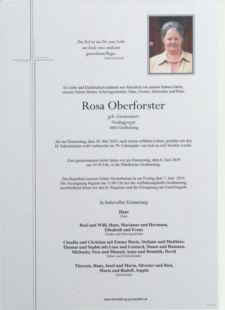 Rosa Oberforster