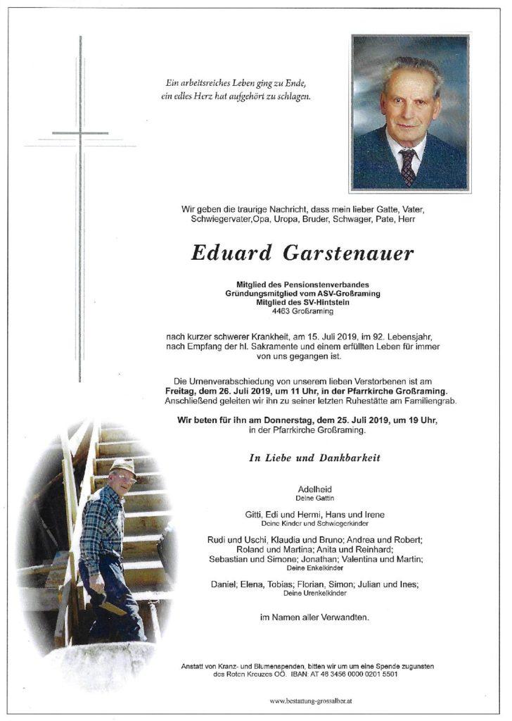 Eduard Garstenauer
