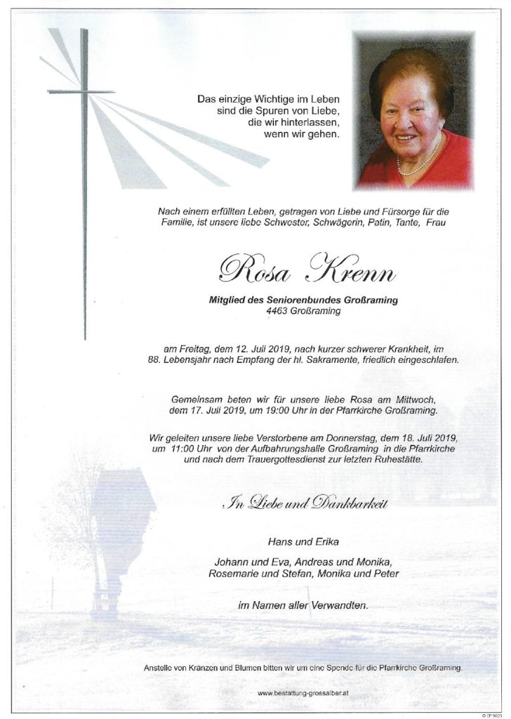 Rosa Krenn