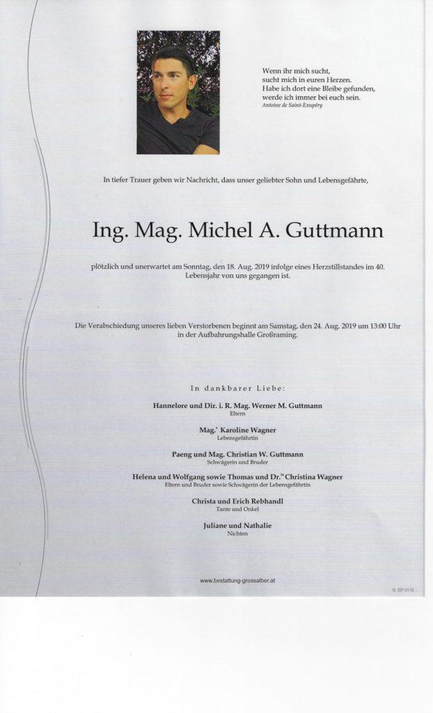 Ing. Mag. Michel A.  Guttmann