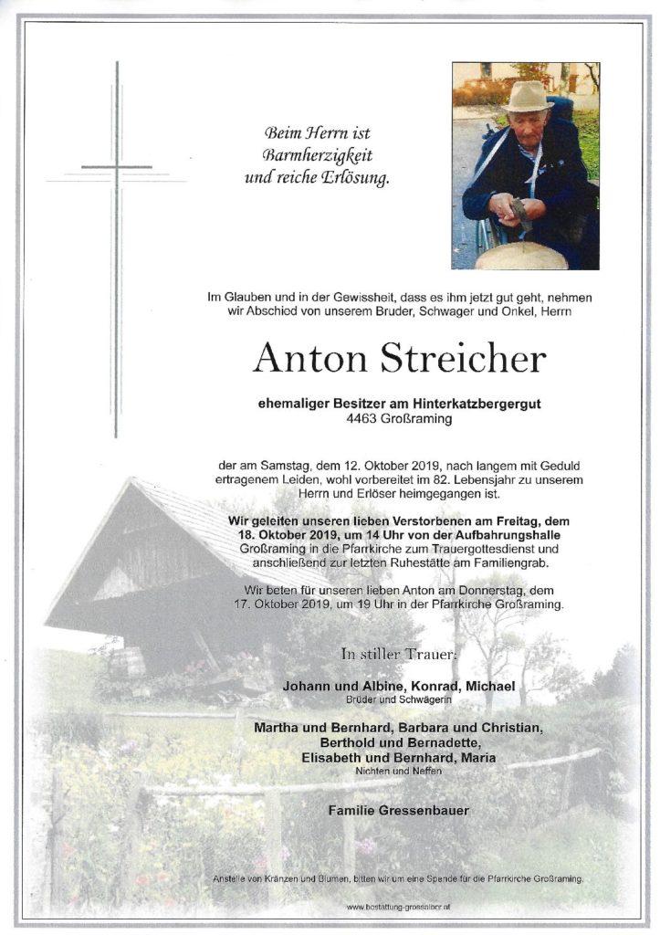 Anton Streicher