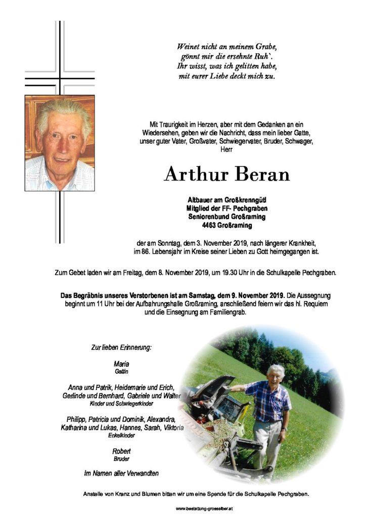 Arthur Beran