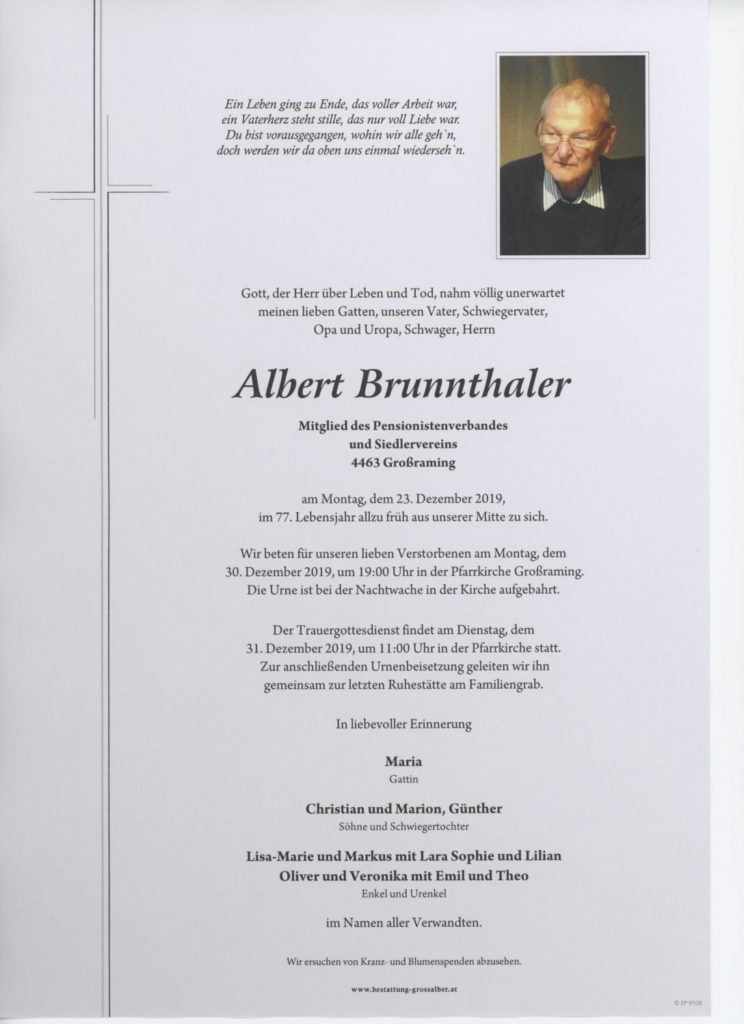 Albert Brunnthaler