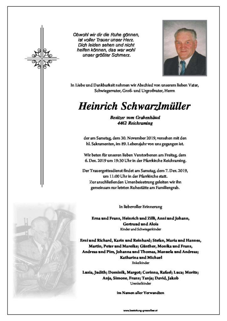Heinrich Schwarzlmüller