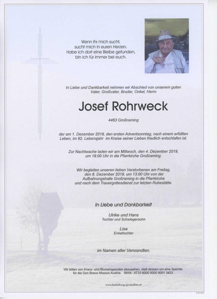 Josef Rohrweck