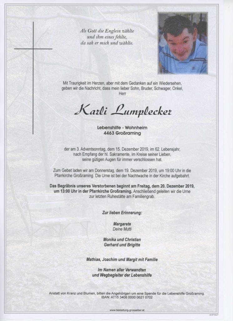 Karl Lumplecker