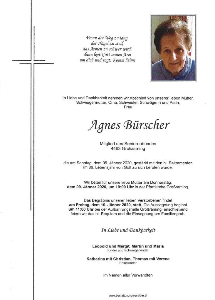 Agnes Bürscher