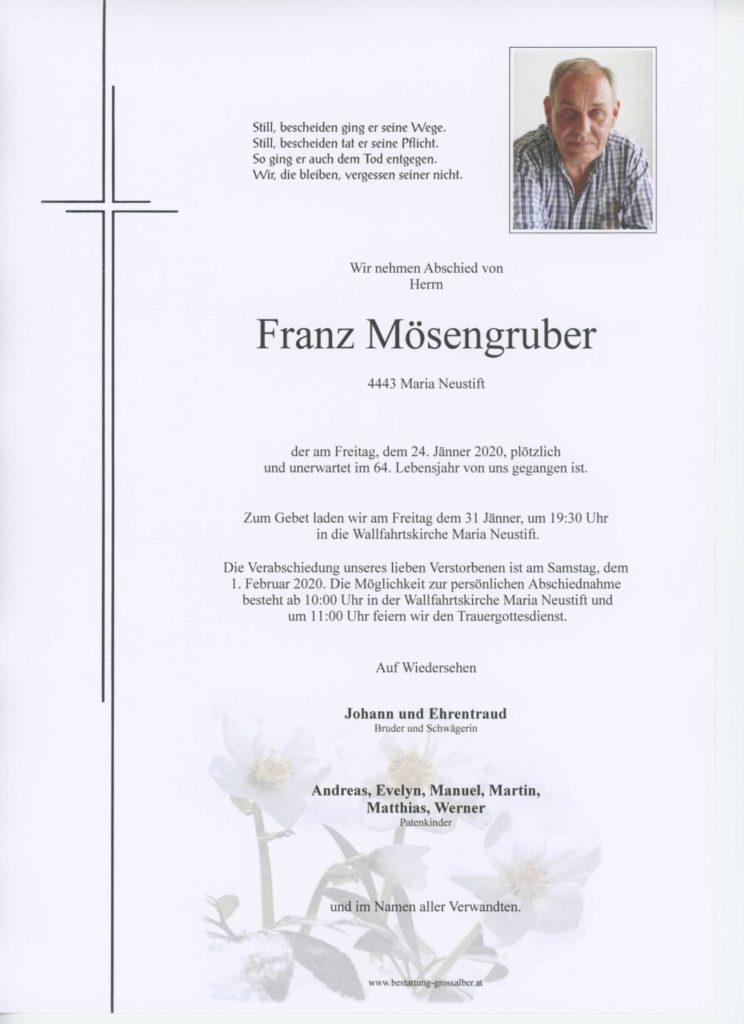 Franz Mösengruber