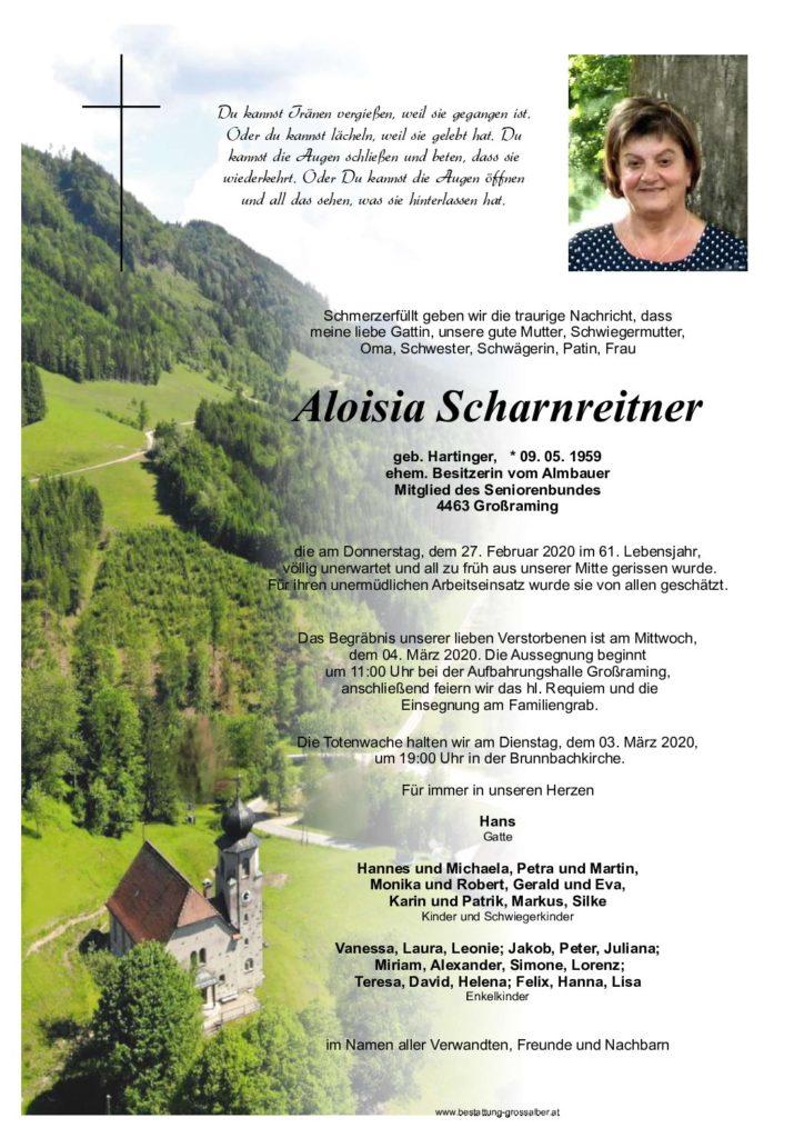 Aloisia Scharnreitner