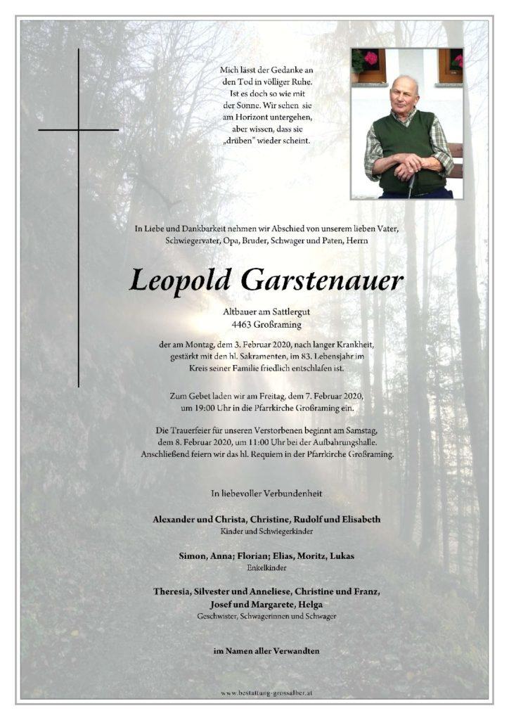 Leopold Garstenauer