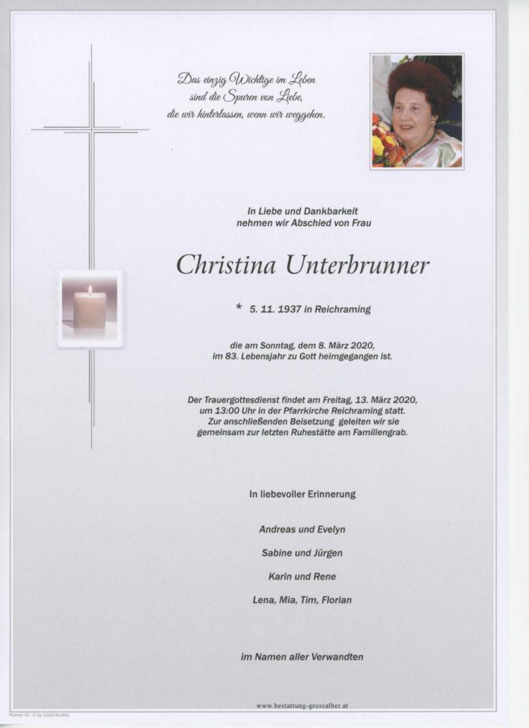 Christina Unterbrunner