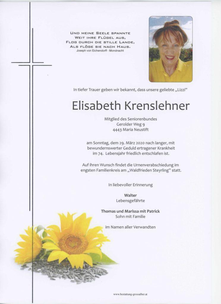 Elisabeth Krenslehner
