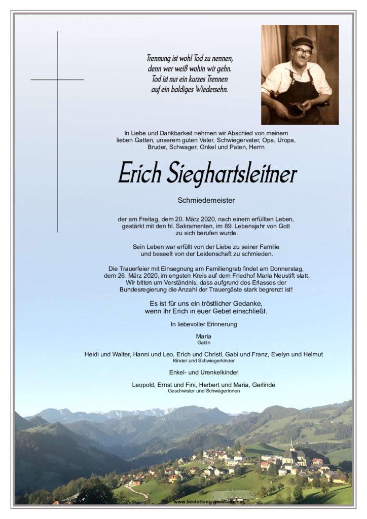 Erich Sieghartsleitner