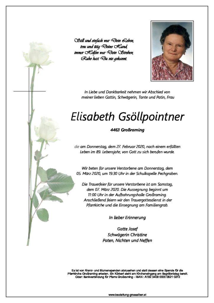 Elisabeth Gsöllpointner