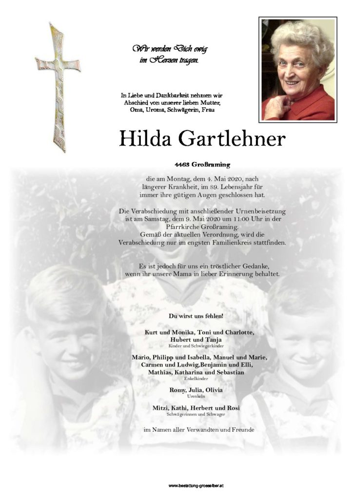 Hilda Gartlehner