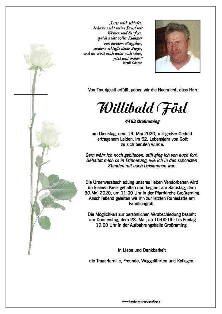 Willibald Fösl