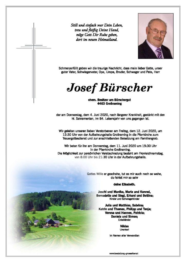 Josef  Bürscher