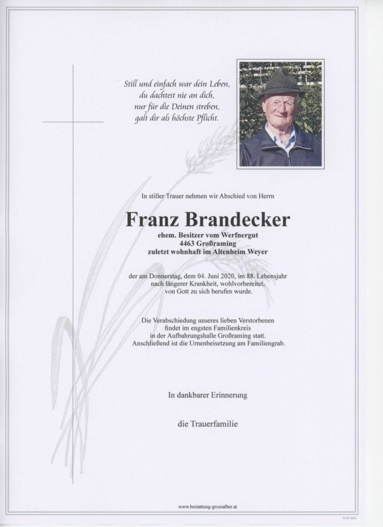 Franz Brandecker