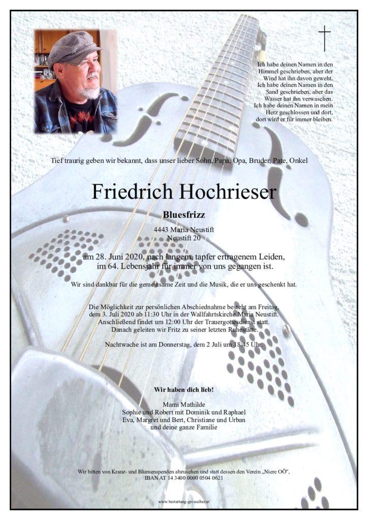 Friedrich Hochrieser