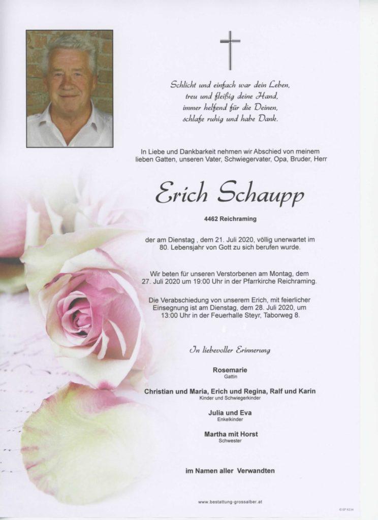 Erich  Schaupp