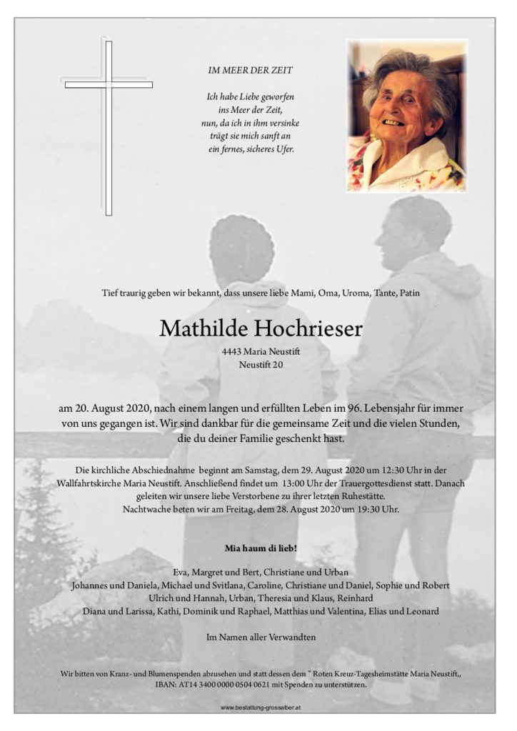 Mathilde Hochrieser