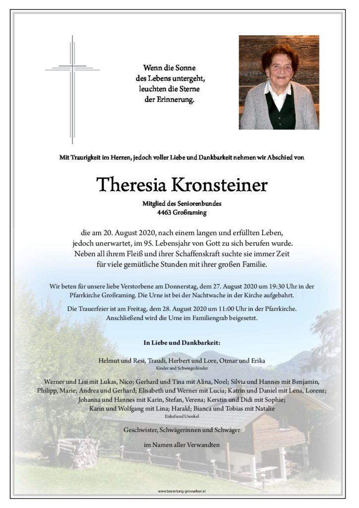 Theresia Kronsteiner