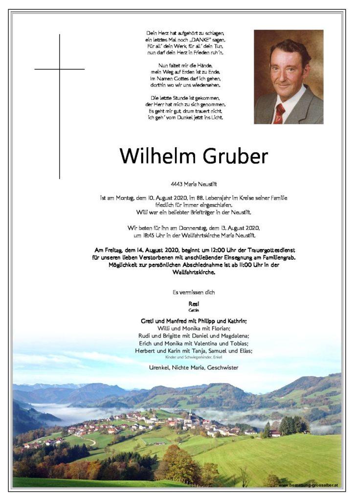Wilhelm Gruber