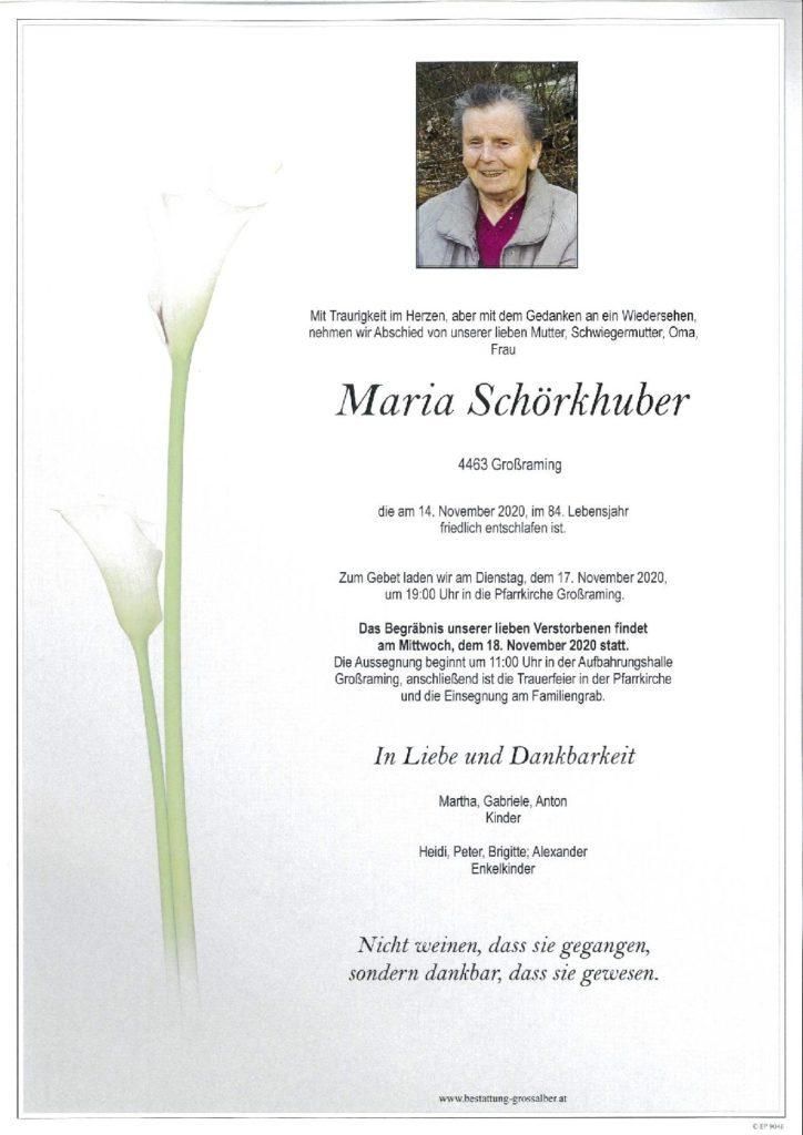 Maria Schörkhuber
