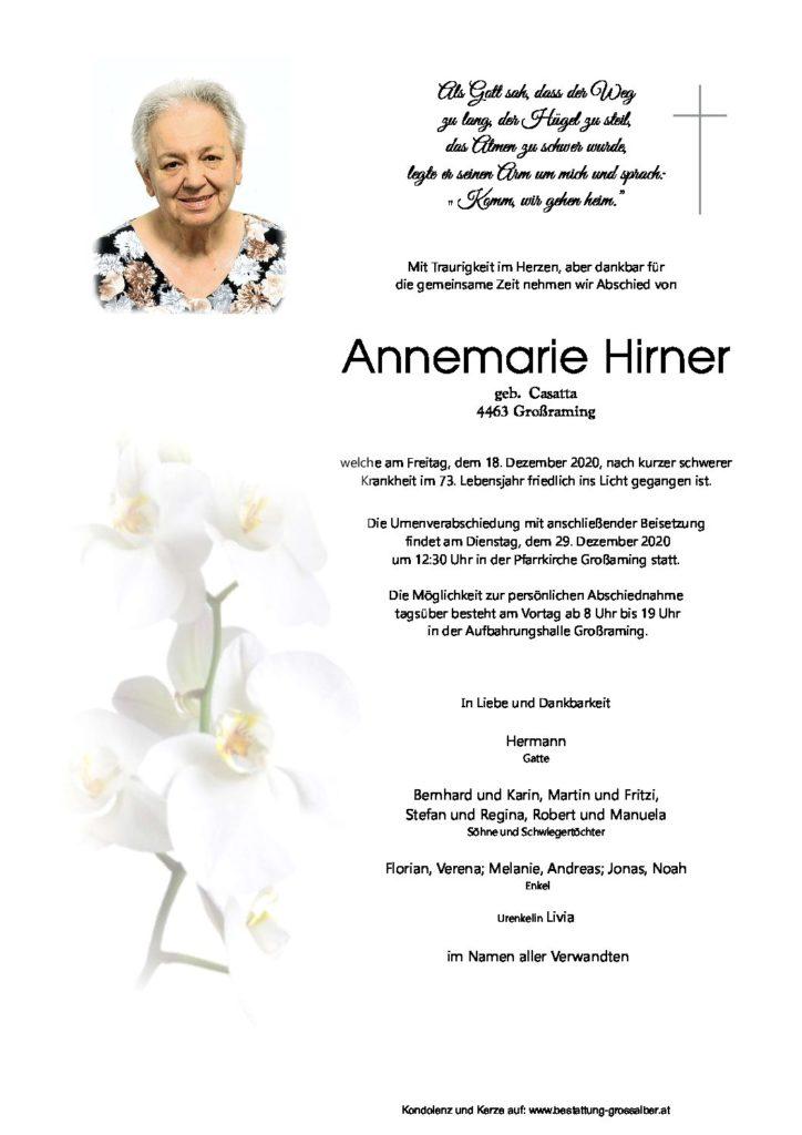 Annemarie Hirner