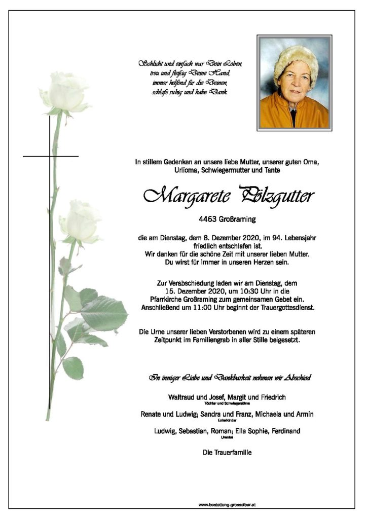 Margarete Pölzgutter