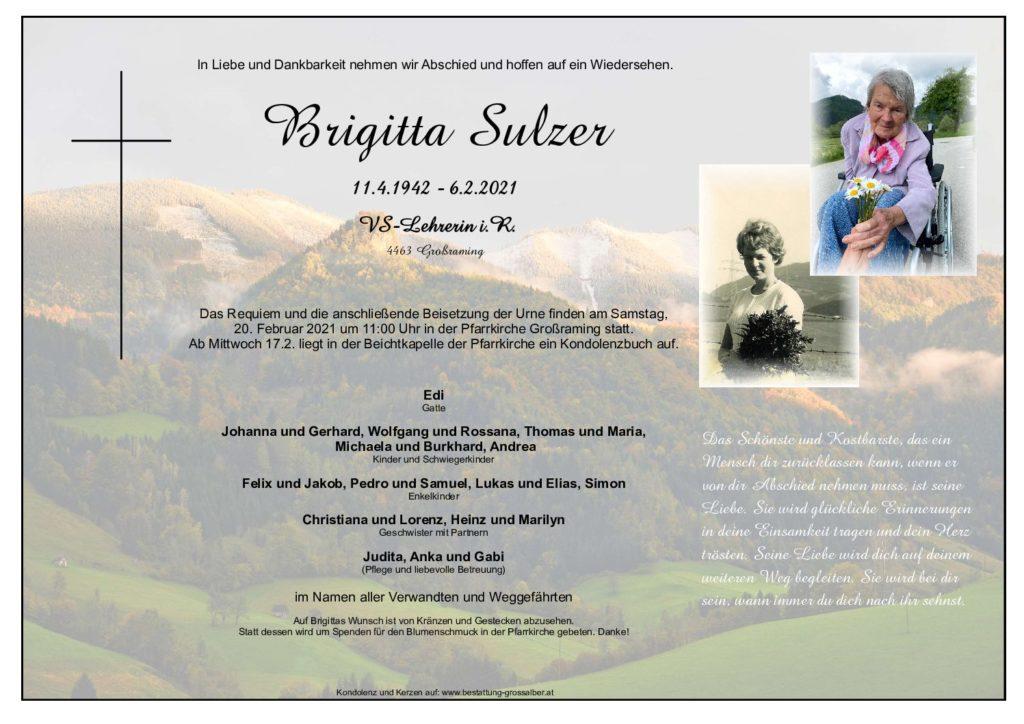 Brigitta Sulzer