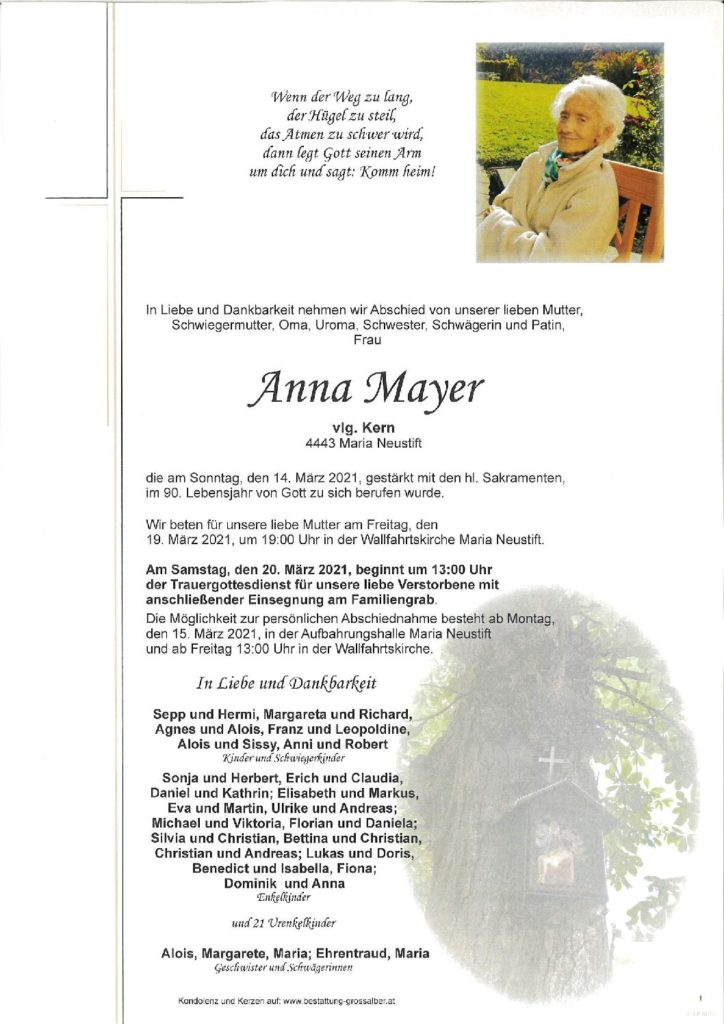 Anna Mayer