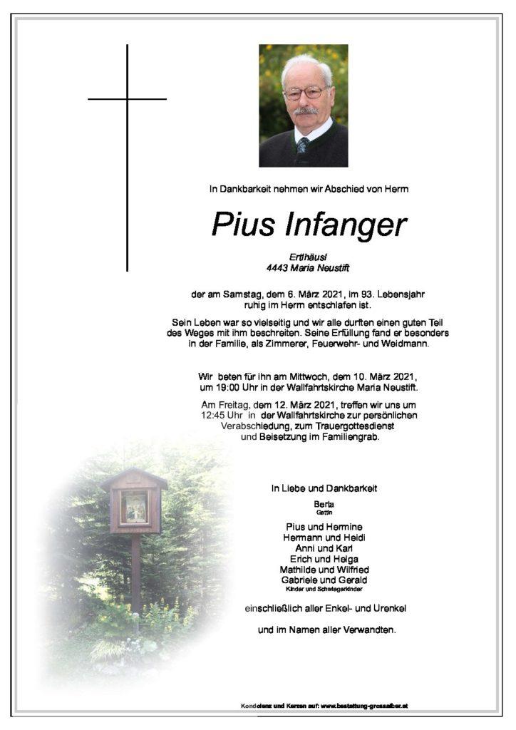 Pius  Infanger