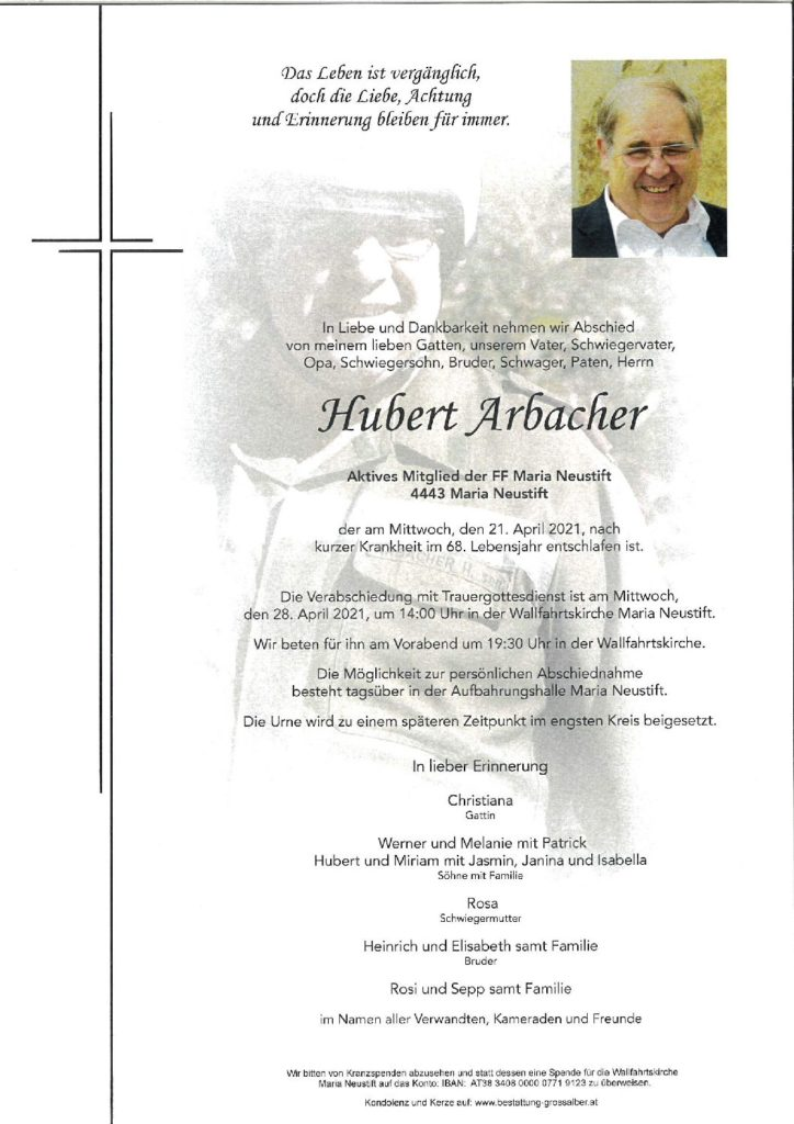 Hubert Arbacher