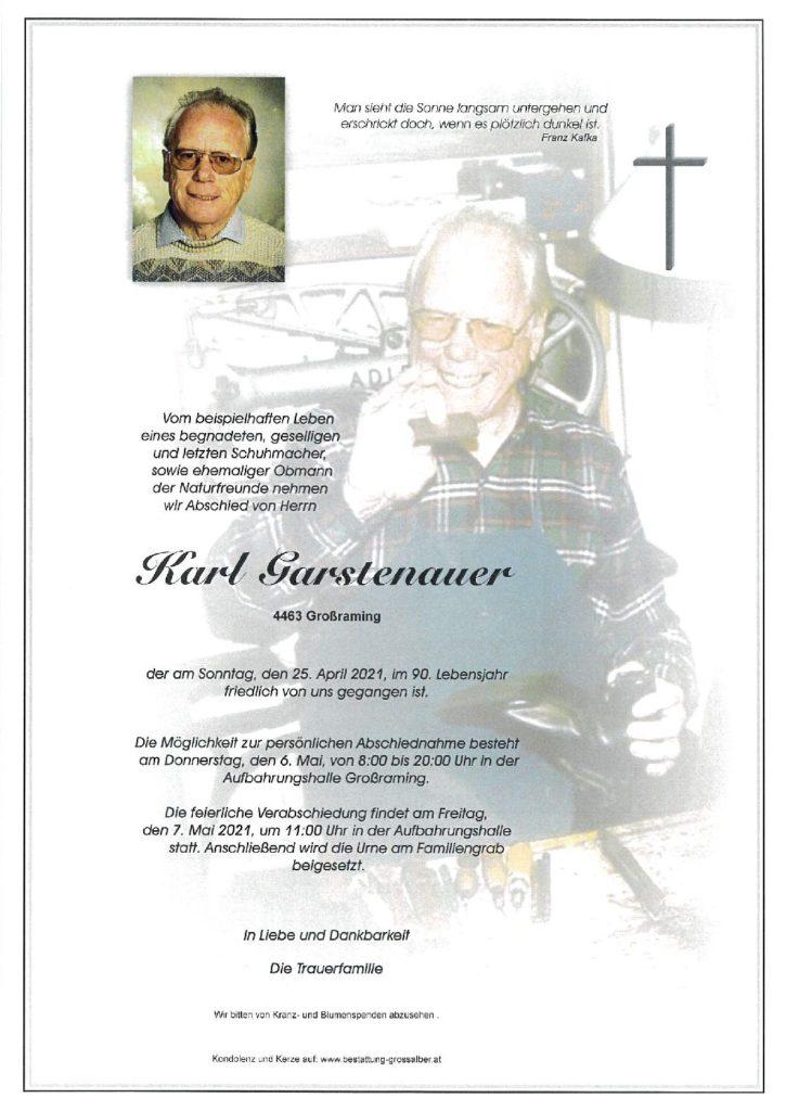 Karl Garstenauer