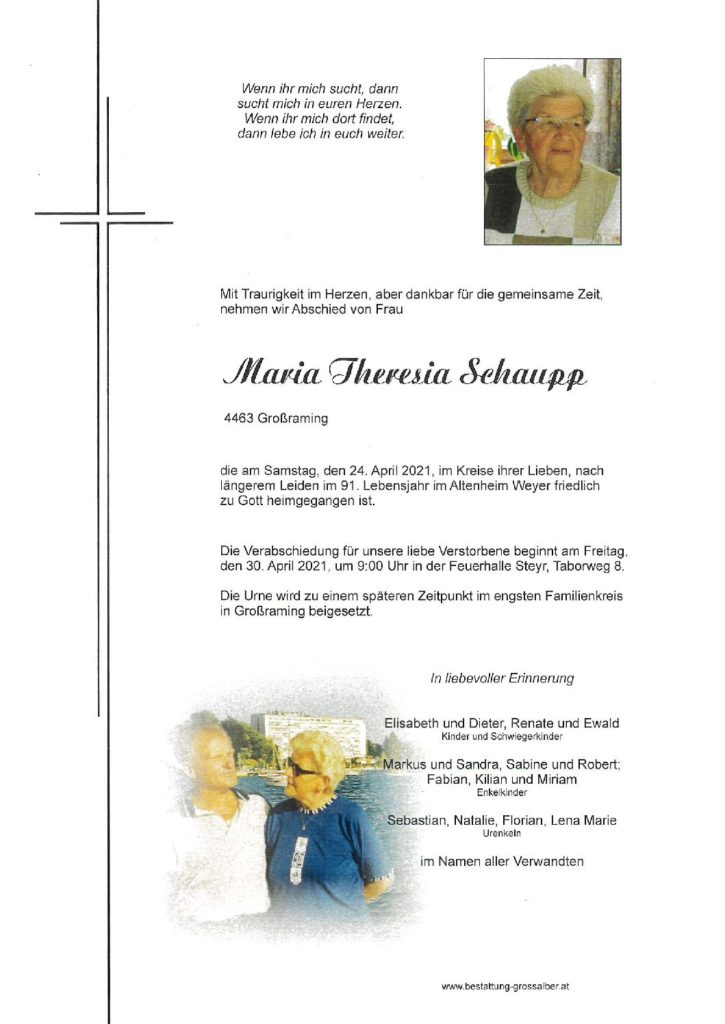 Maria Theresia Schaupp